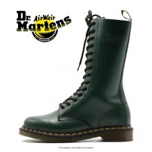 Dr Martens 14 eye Green