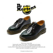 Dr Martens 1461 Black/Green
