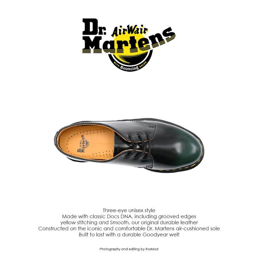 Dr Martens 1461 Black/Green