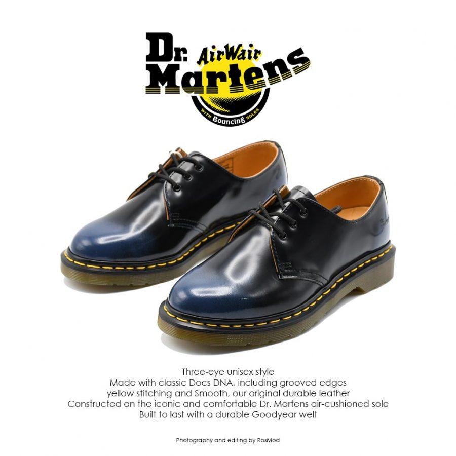 Dr Marten 1461 Black/Blue