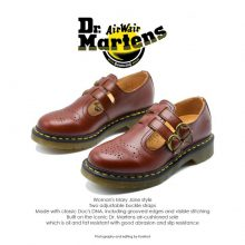 Dr Martens Mary Jane Cherry Red