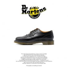 Dr Martens Irene Brogue Black
