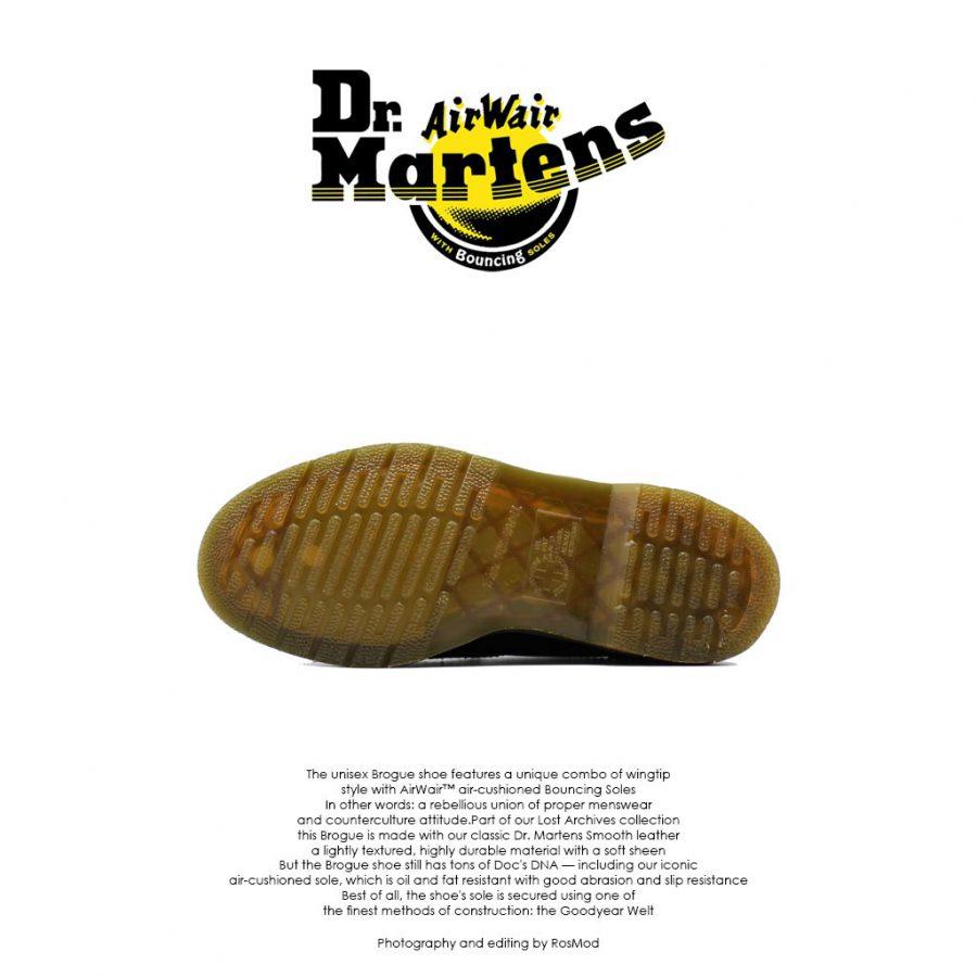 Dr Martens Irene Brogue Black