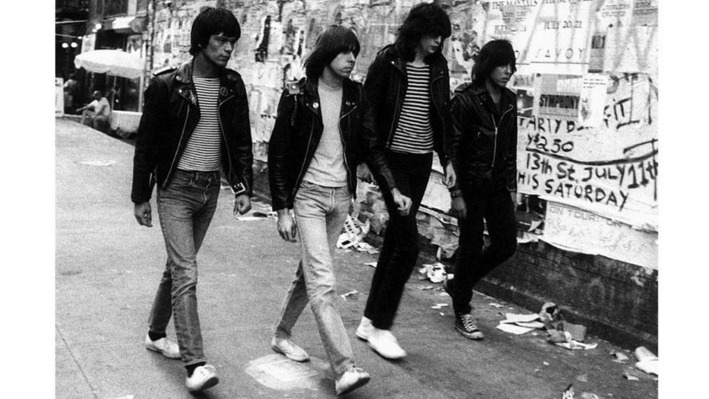 گروه Ramones در سال 1978