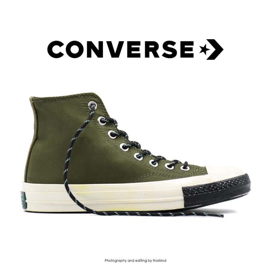 Converse 1970 High Trek Tech Army Green