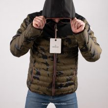 Moncler Puffer Jacket Longue Saison Army Green