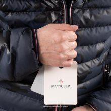 Moncler Puffer Jacket Longue Saison Dark Navy