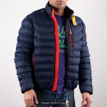 Parajumpers Navy Puffer Jacket