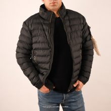 Stone Island Black Puffer Jacket