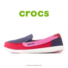 Crocs Walu Canvas Loafer Nautical Navy/Pepper