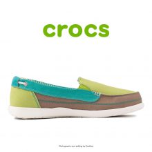 Crocs Walu Canvas Loafer Volt Green/Island Green