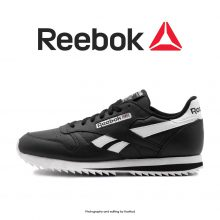 Reebok Classic Leather Ripple Low Black/White