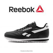 Reebok Classic Leather Ripple Low Black/White