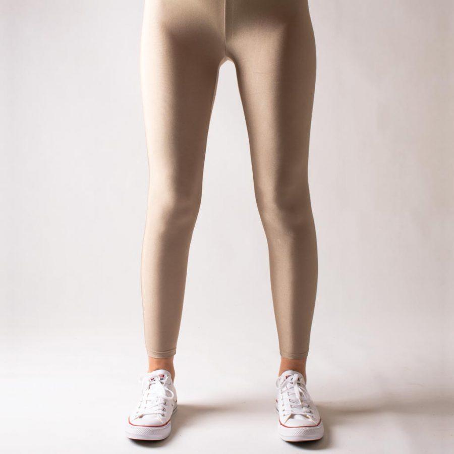 لگ دیسکوتایت بژ شاین آگی – Agi Disco Leggings Bej