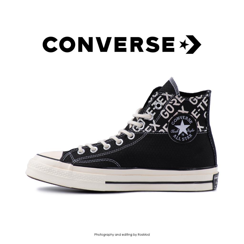 کتانی کانورس آل استار - Converse Chuck 70 HI Gore-Tex Black/Egret