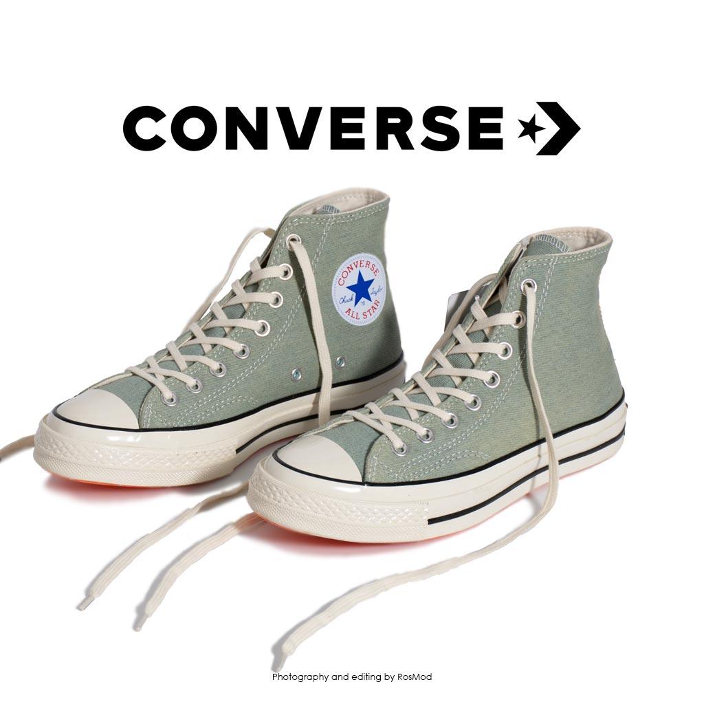 کتانی کانورس آل استار - Converse Chuck 70 HI Light Green