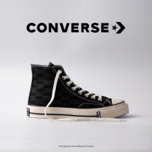 کتانی کانورس آل استار - Converse Kith X Chuck 70 High Black Monogram