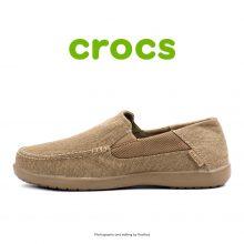 لوفر مردانه کراکس - Crocs Santa Cruz 2 Luxe Khaki