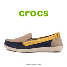 Crocs Walu Loafer Khaki Canary