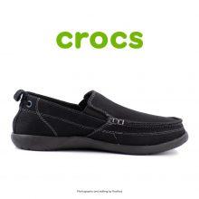 لوفر مردانه کراکس - Crocs Walu Men Black/Black