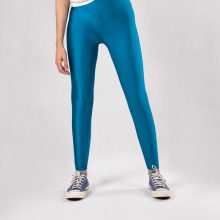 لگ دیسکوتایت بلو فندیل شاین آگی - Agi Disco Leggings Blue Fondale