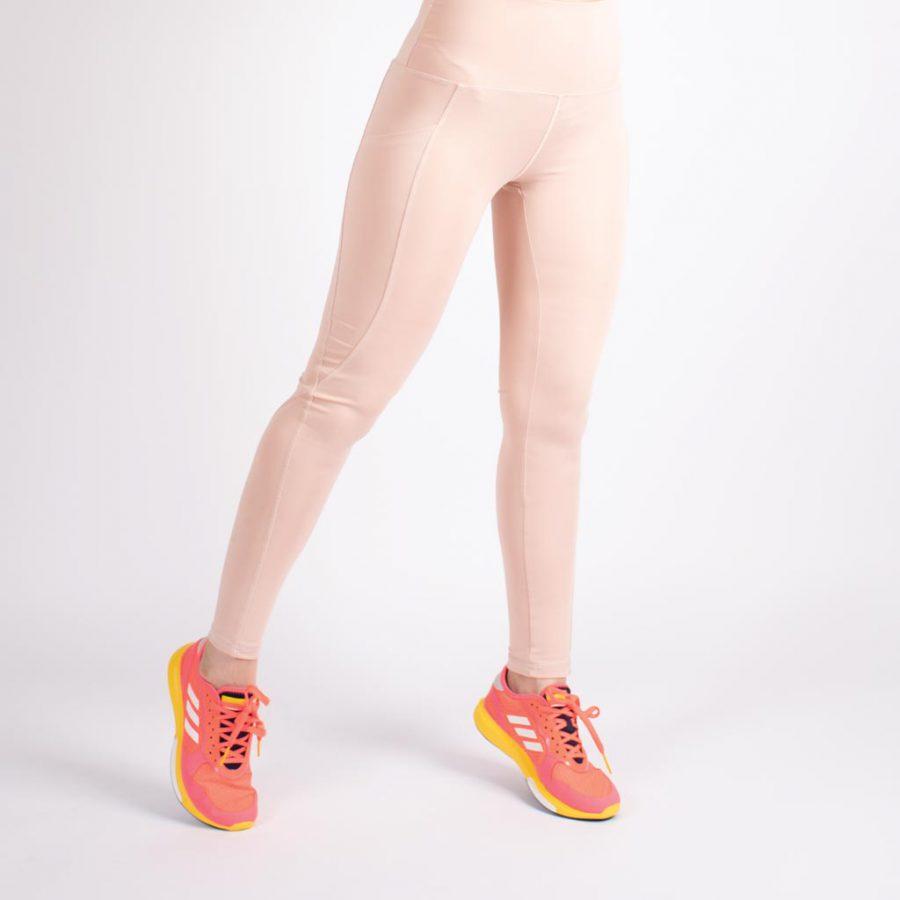 لگ اسلیم افکت جیبدار صورتی روشن – Agi Slim Effect Leggings Gul Kurusu
