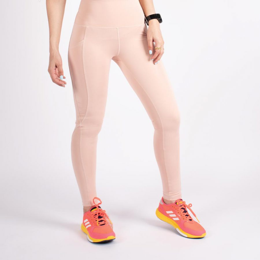 لگ اسلیم افکت جیبدار صورتی روشن - Agi Slim Effect Leggings Gul Kurusu