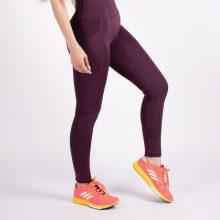 لگ اسلیم افکت جیبدار بادمجانی - Agi Slim Effect Leggings Murdum