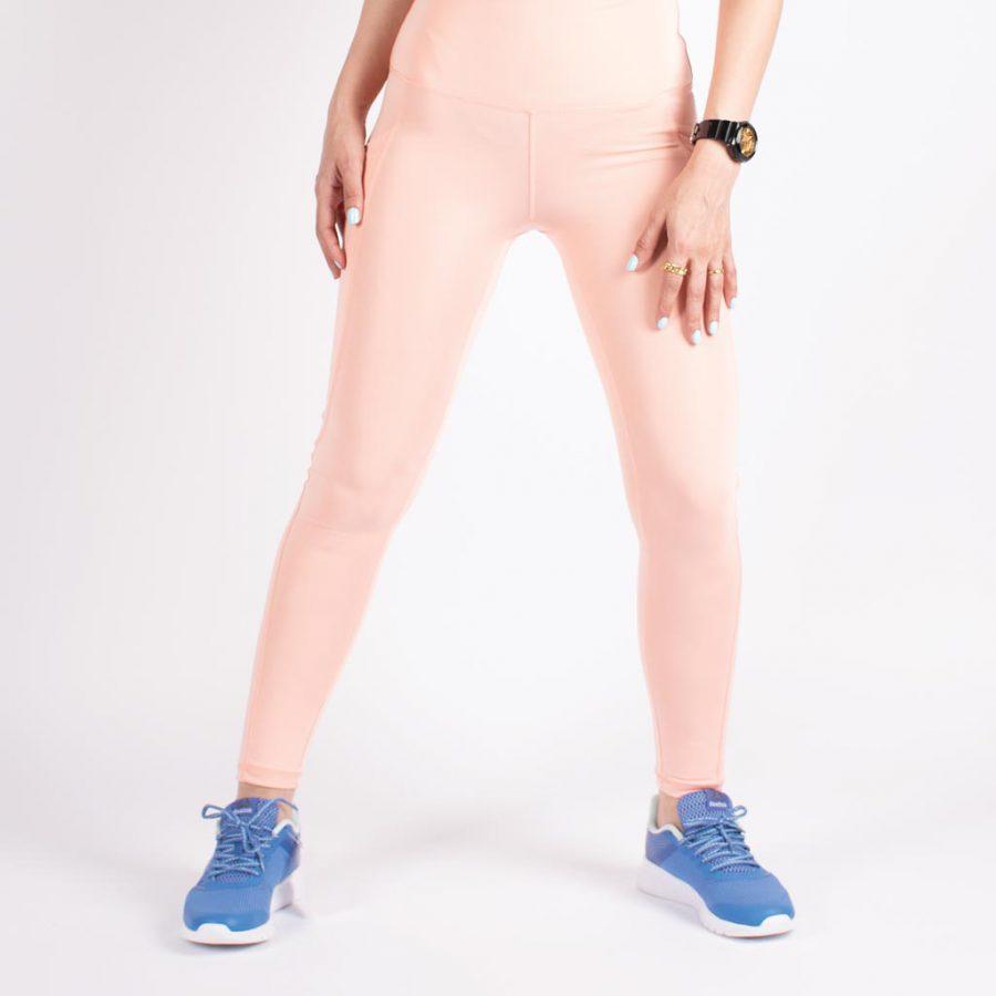 لگ اسلیم افکت جیبدار هلویی - Agi Slim Effect Leggings Şeftali