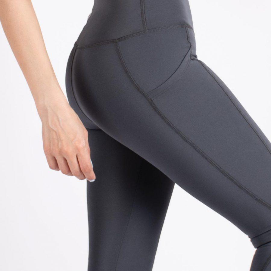 لگ اسلیم افکت جیبدار صورتی روشن – Agi Slim Effect Leggings Fume