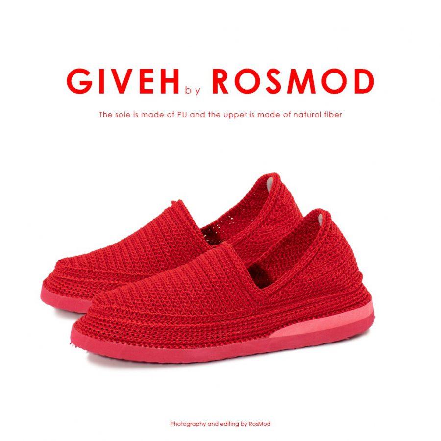 گیوه قرمز – Giveh Mono Red