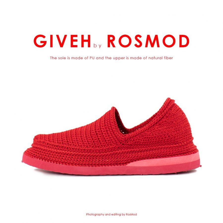 گیوه قرمز - Giveh Mono Red