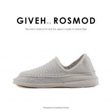 گیوه تمام سفید ساده - Giveh Mono White