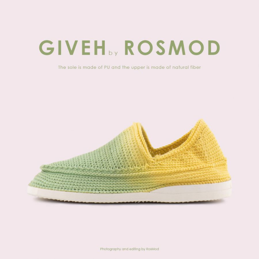گیوه سبز روشن/زرد – Giveh Highlight Asparagus/YLW
