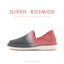 گیوه دودی/هلویی هایلایت - Giveh Highlight Grey/Candy Pink