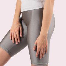 شلوارک نقره ای تیره شاین آگی - Agi Disco Shorts Gümüş