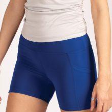 شلوارک کوتاه اسلیم افکت کاربنی جیبدار - Agi Slim Effect Shorts Saks