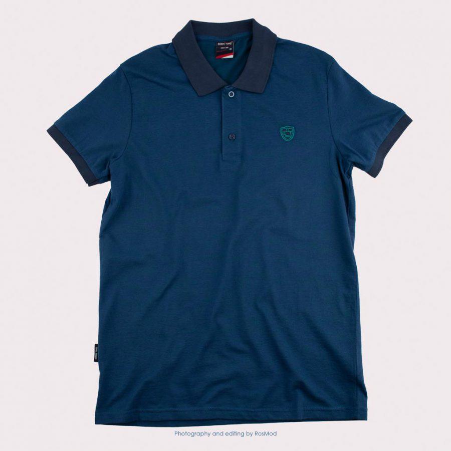 پولوشرت – Eden Time Polos Metallic Blue/Green Logo