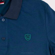 پولوشرت - Eden Time Polos Metallic Blue/Green Logo