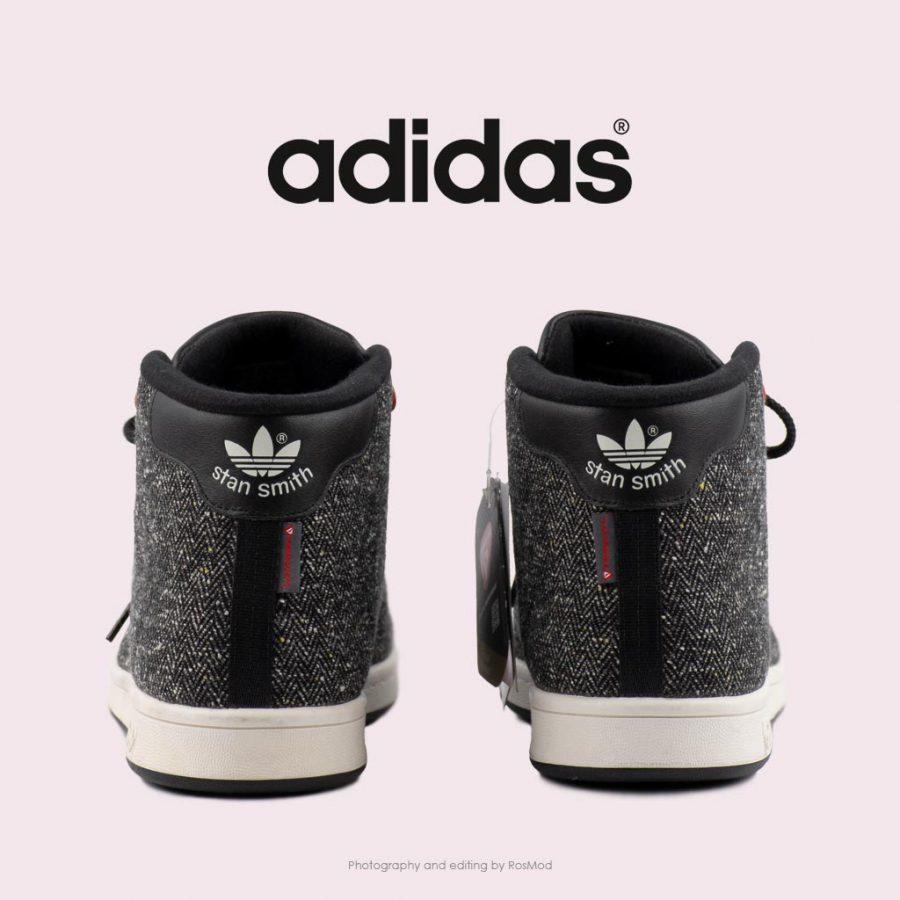کتانی آدیداس استن اسمیت ساقدار مشکی – Adidas Stan Smith Winter Core BLK