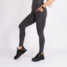 لگ اسلیم افکت جیبدار دودی قد 100 - Agi Slim Effect Leggings Fume