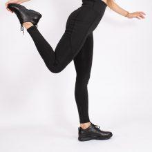 لگ اسلیم افکت جیبدار سیاه قد 100 - Agi Slim Effect Leggings Siyah
