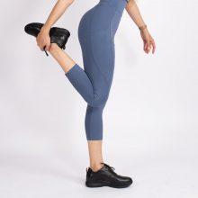 لگ اسلیم افکت جیبدار آبی ایندیگو قد 75 - Agi Slim Effect Leggings Indigo