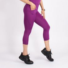 لگ اسلیم افکت جیبدار ارغوانی قد 75 - Agi Slim Effect Leggings Mor