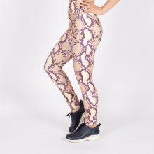 لگ اسلیم افکت پوست ماری 24604 - Agi Slim Effect Leggings Snakeskin Pattern