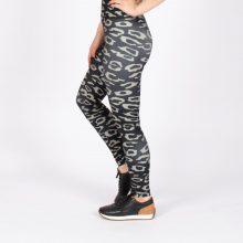 لگ اسلیم افکت پلنگی 24607 - Agi Slim Effect Leggings Leopard Pattern