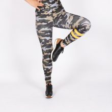 لگ اسلیم افکت ارتشی 24610 - Agi Slim Effect Leggings Army Pattern