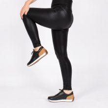 لگ اسلیم افکت چرم موزاییکی 24622 - Agi Slim Effect Leggings Mosaic Pattern