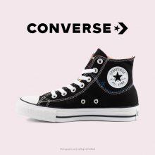 کتانی کانورس آل استار کات لاین مشکی - Converse Cut Line Black High Tops