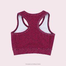 نیم تنه اسلیم طرح بومی آگی - Agi Slimming Sport Bra Native Pattern